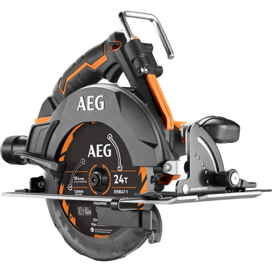 Аккумуляторная циркулярная пила AEG BKS18BR-0