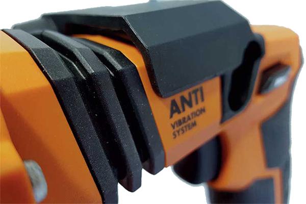 Антивибрационная рукоятка на инструменте