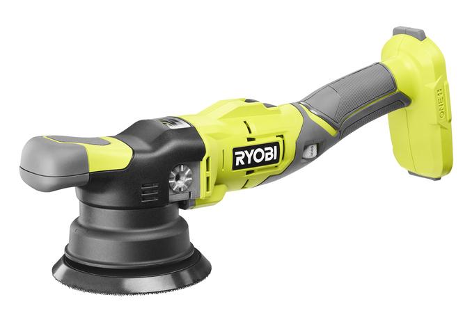 Характеристики полировальной машины Ryobi с двойным вращением
